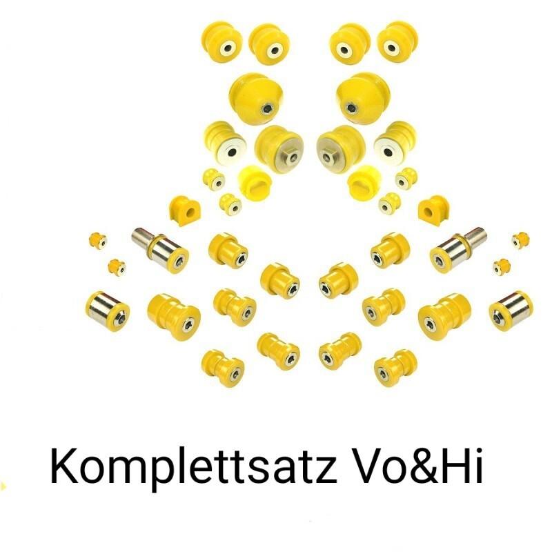 PU-Buchsen SATZ- SPORT Vo & Hi Härte: 90ShA A6 S6 RS6 4b/C5