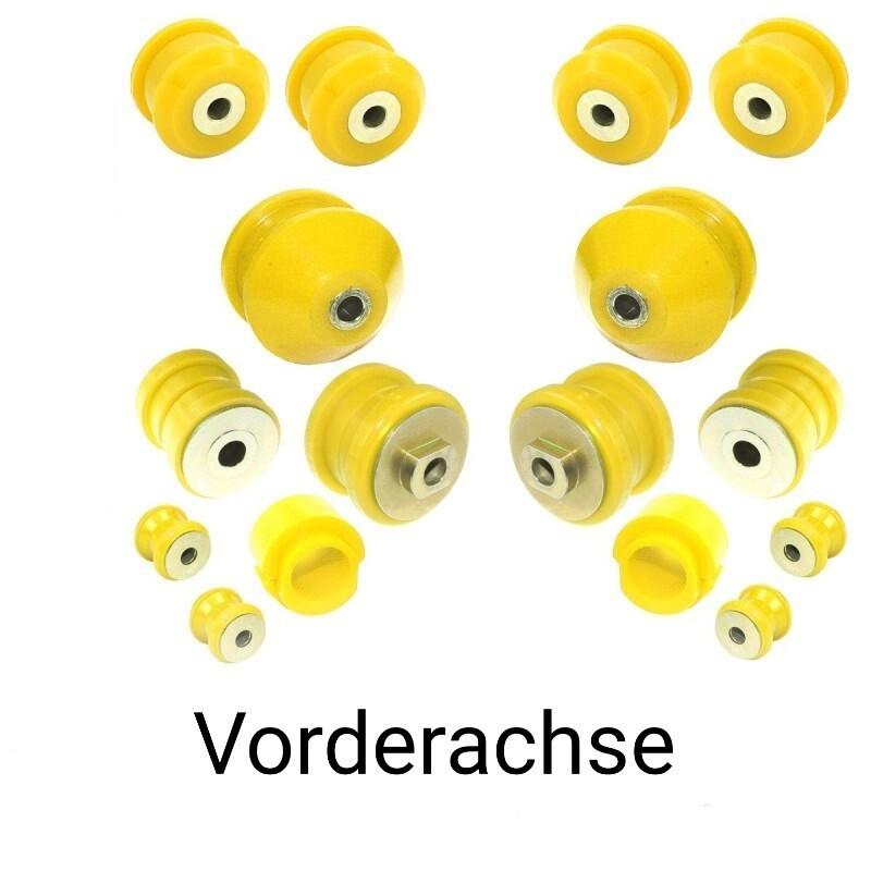 PU-Buchsen SATZ- SPORT  Vorderachse Härte: 90ShA A6 S6 RS6 4b/C5
