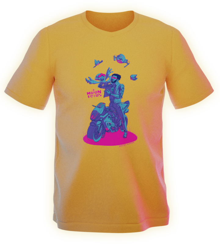 Cyber Mf - 4Tone - Unisex T-Shirt