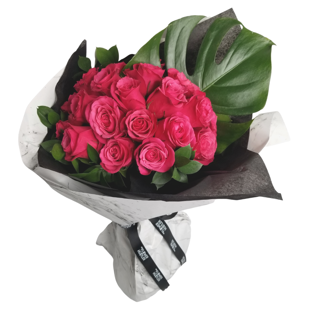Roses - Wrapped Bouquet