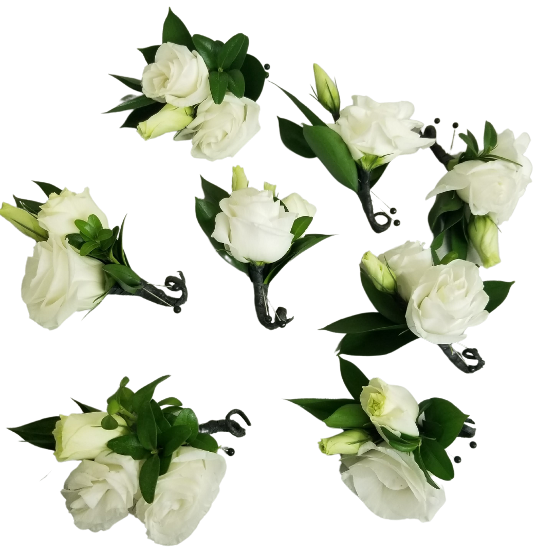 Boutonniere Package - Quantity 15