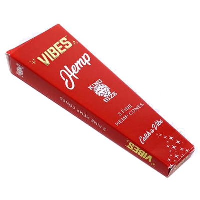 Vibes King Size Cone Single-Pack 3 Cones