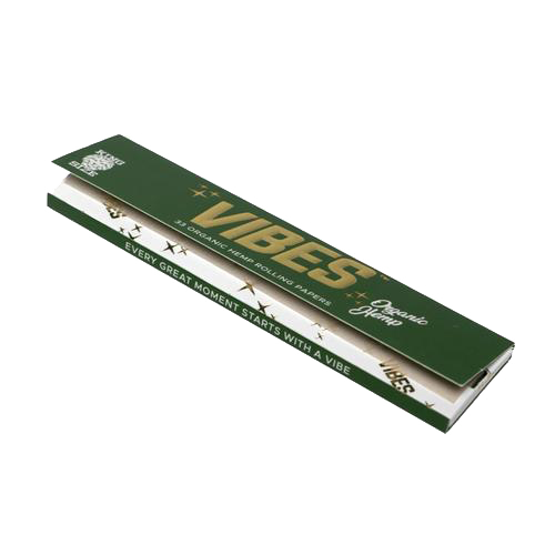 Vibes King Slim Single-Pack 33 Rolling Papers