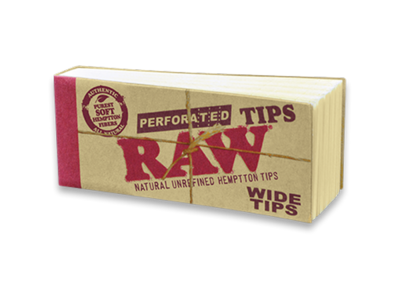 Raw Perforated Wide Tips
