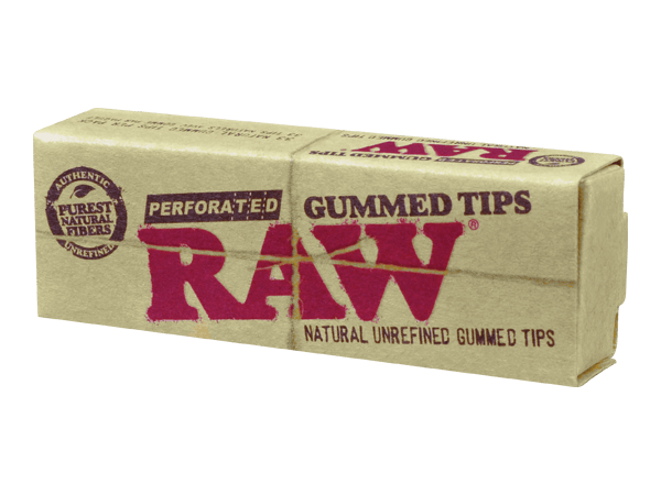 Raw Perforated Gum Tips