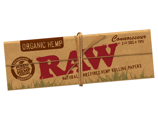 RAW Papers Connoisseur Slim + Tips Organic