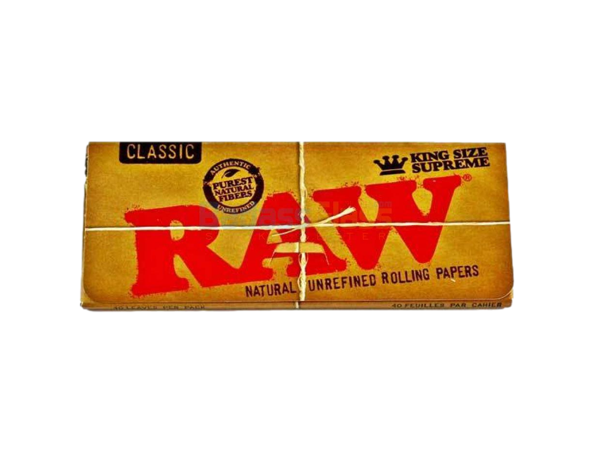 Raw King Supreme Classic Rolling Papers