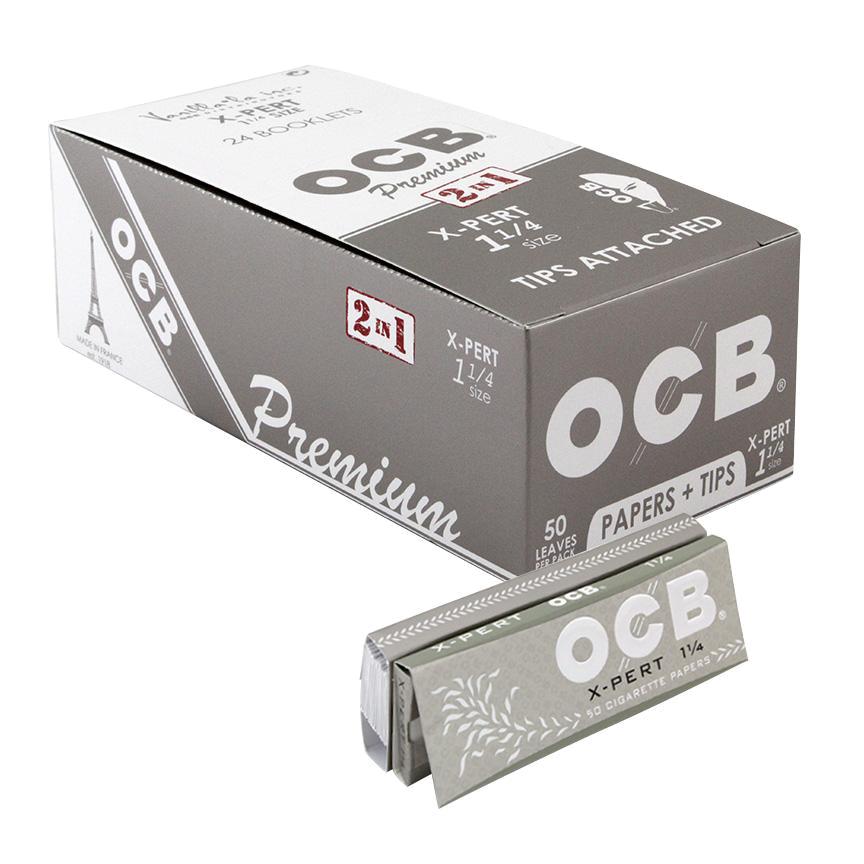 OCB 1 1/4 Xpert + Tips