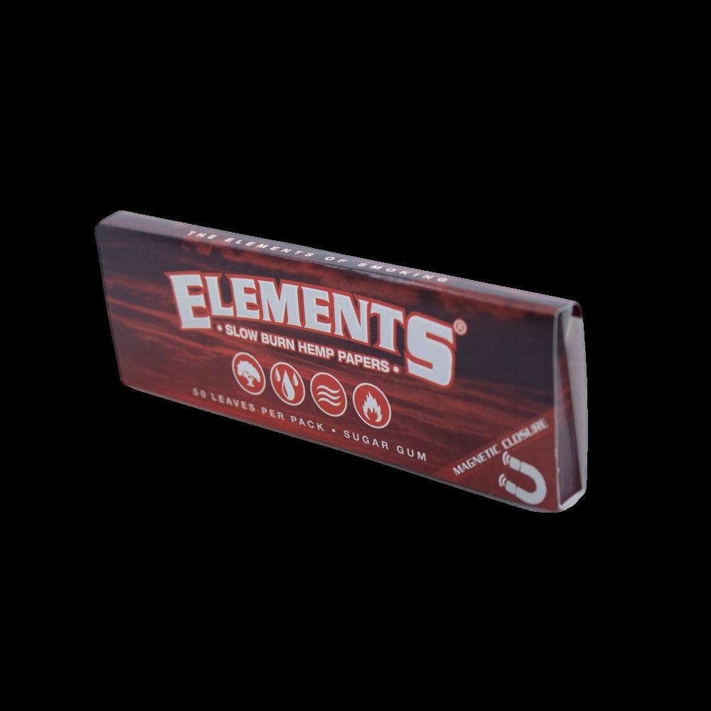 Elements 1 1/4 Slow Burn Hemp Papers