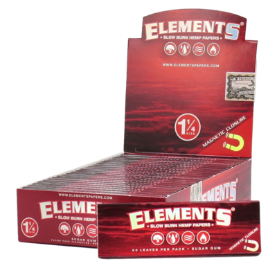 Elements Rolling Papers 1 1/4 Ultra Thin Magnetic