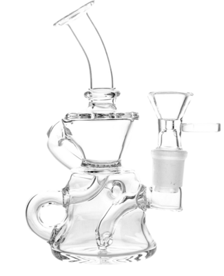 Clear Mini Recycler 5.5