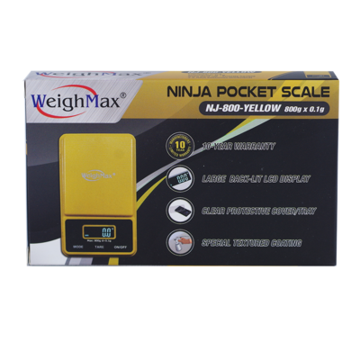 WeighMax Ninja Pocket Scale 800g x 0.1g