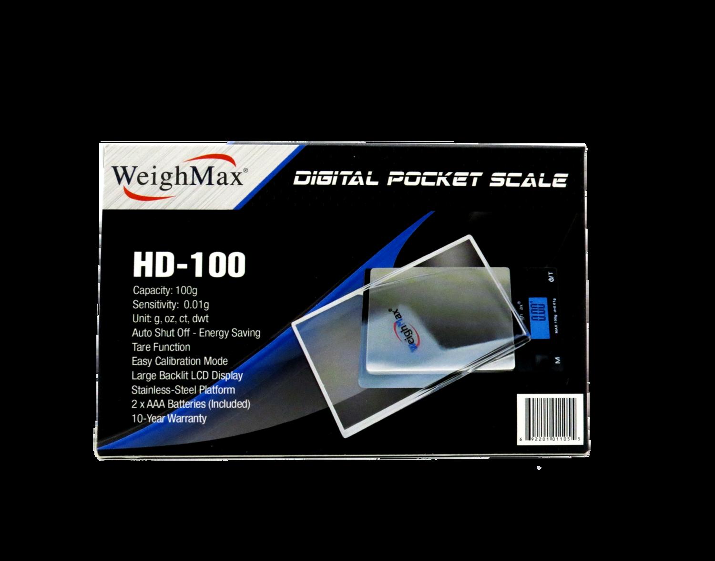 WeighMax Px-100 100g x 0.01g