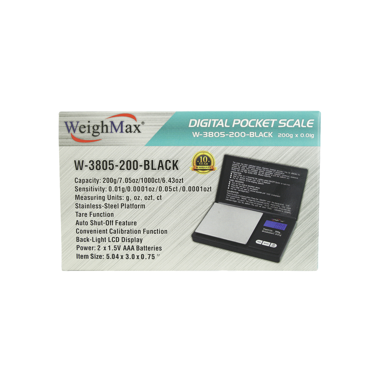 WeighMax Scale W-3805-200
