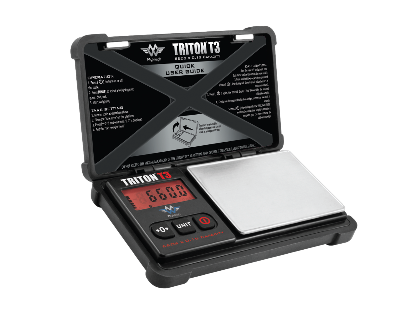 Triton T3 660g x 0.1g