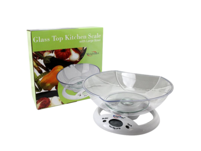Weighmax Glass Top Kitchen Scale W-5800 3kg x 1g