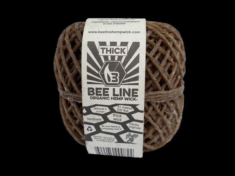 BeeLine Organic Hemp Wick 200'