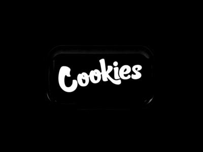 Cookies Medium Rolling Tray 1677