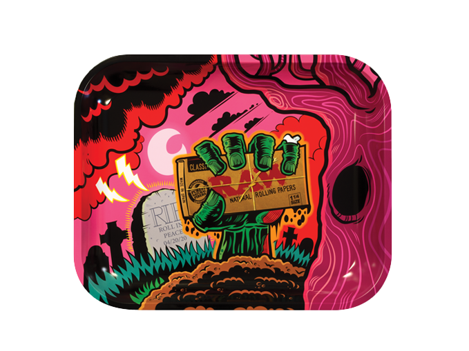 RAW Authentic Graveyard Large Rolling Tray