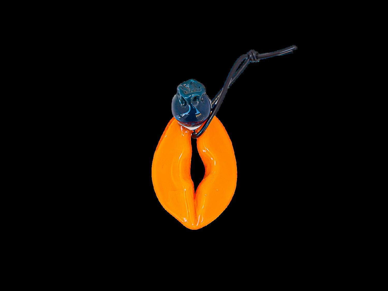 Saki Bomb Blueberry & Orange Slices Pendant