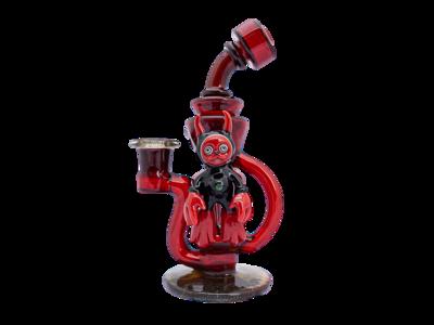Hoobs x Aquarius Devil Trophy Perc Recycler w/ Pendant