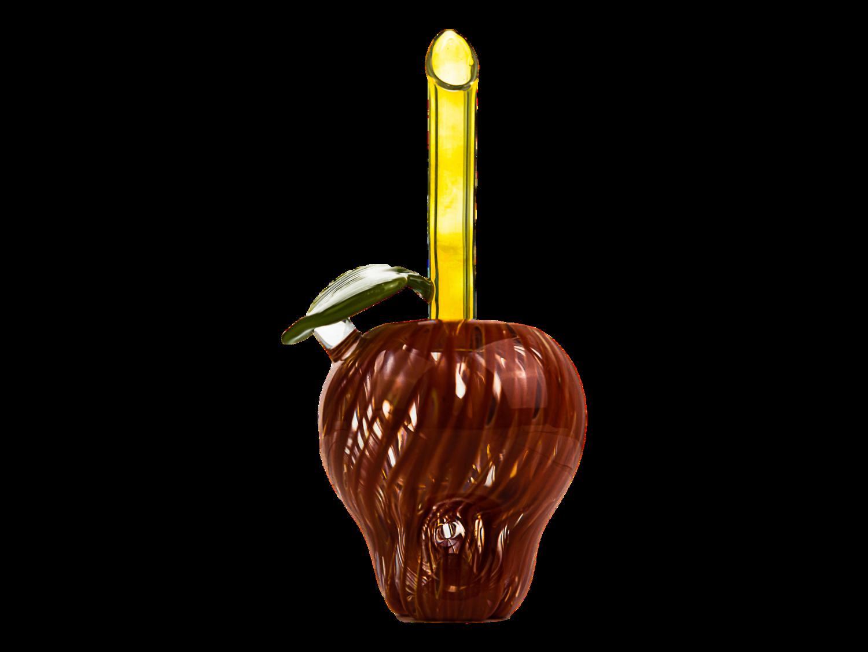 Daniels Glass Art Red Apple Dry Pipe