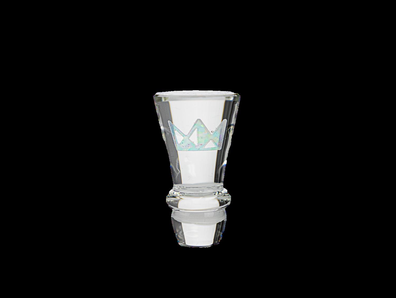 Smir Glass x West Coast Cure Logo Opal Puffco Cap