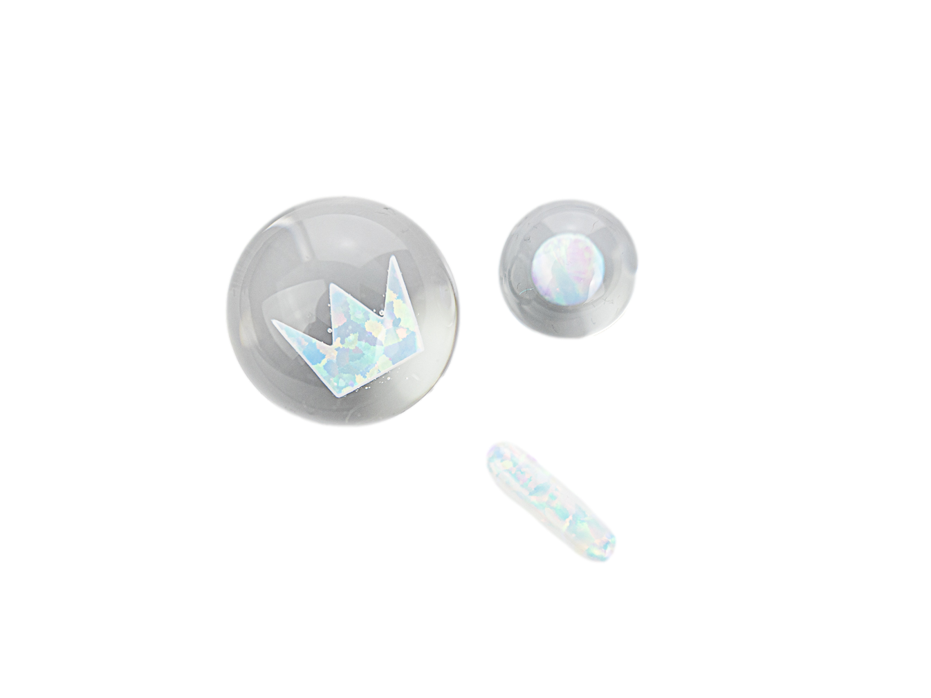 Smir Glass x West Coast Cure Opal Slurper Set