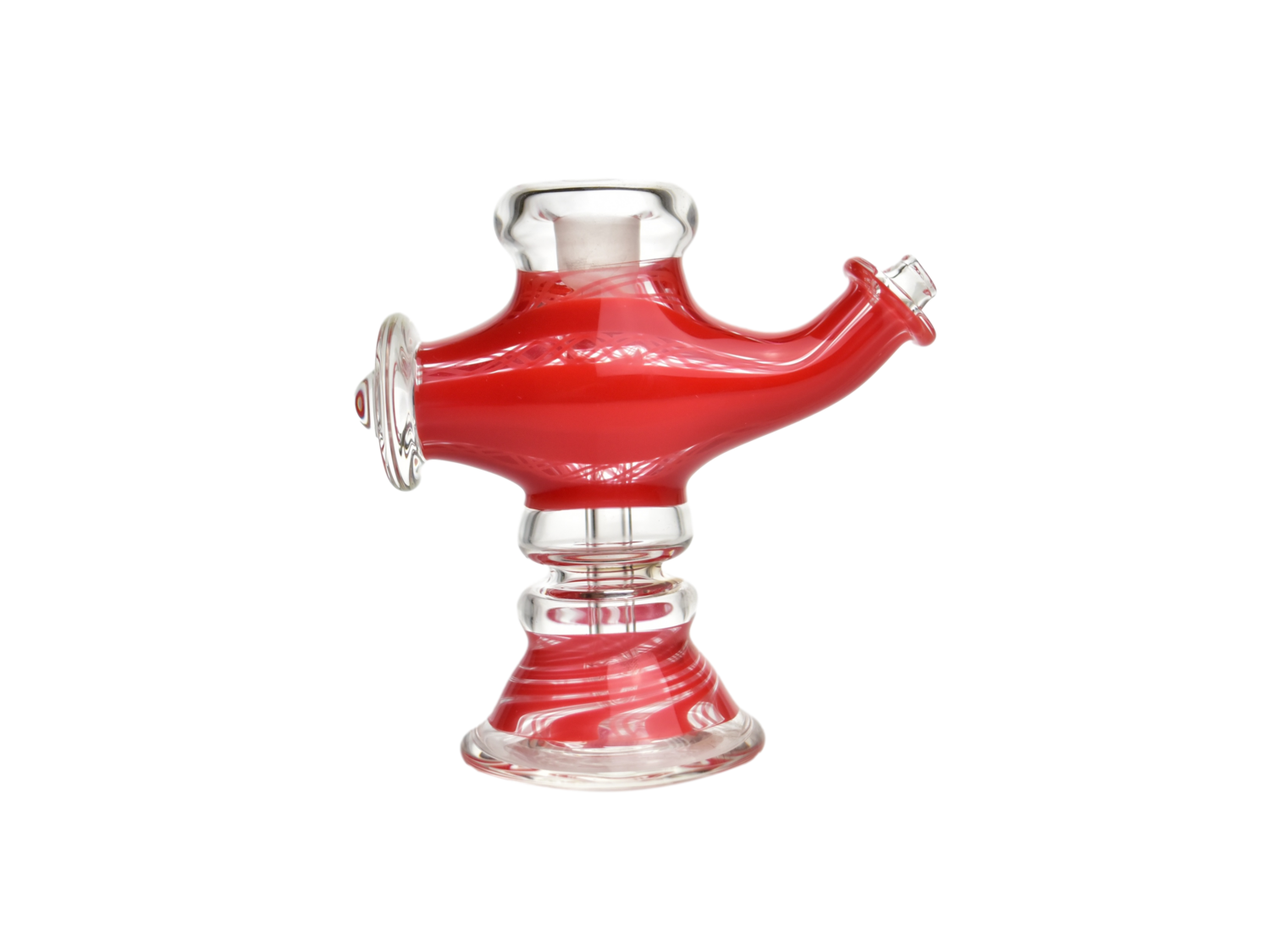 Kosher Tall Lamp Rig in Red and Worked Red