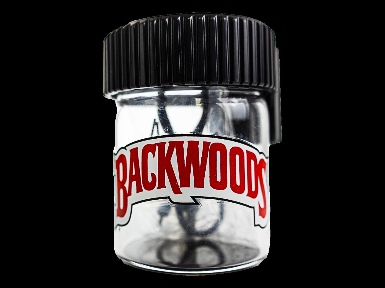 Backwoods Magnifying Glass Jar