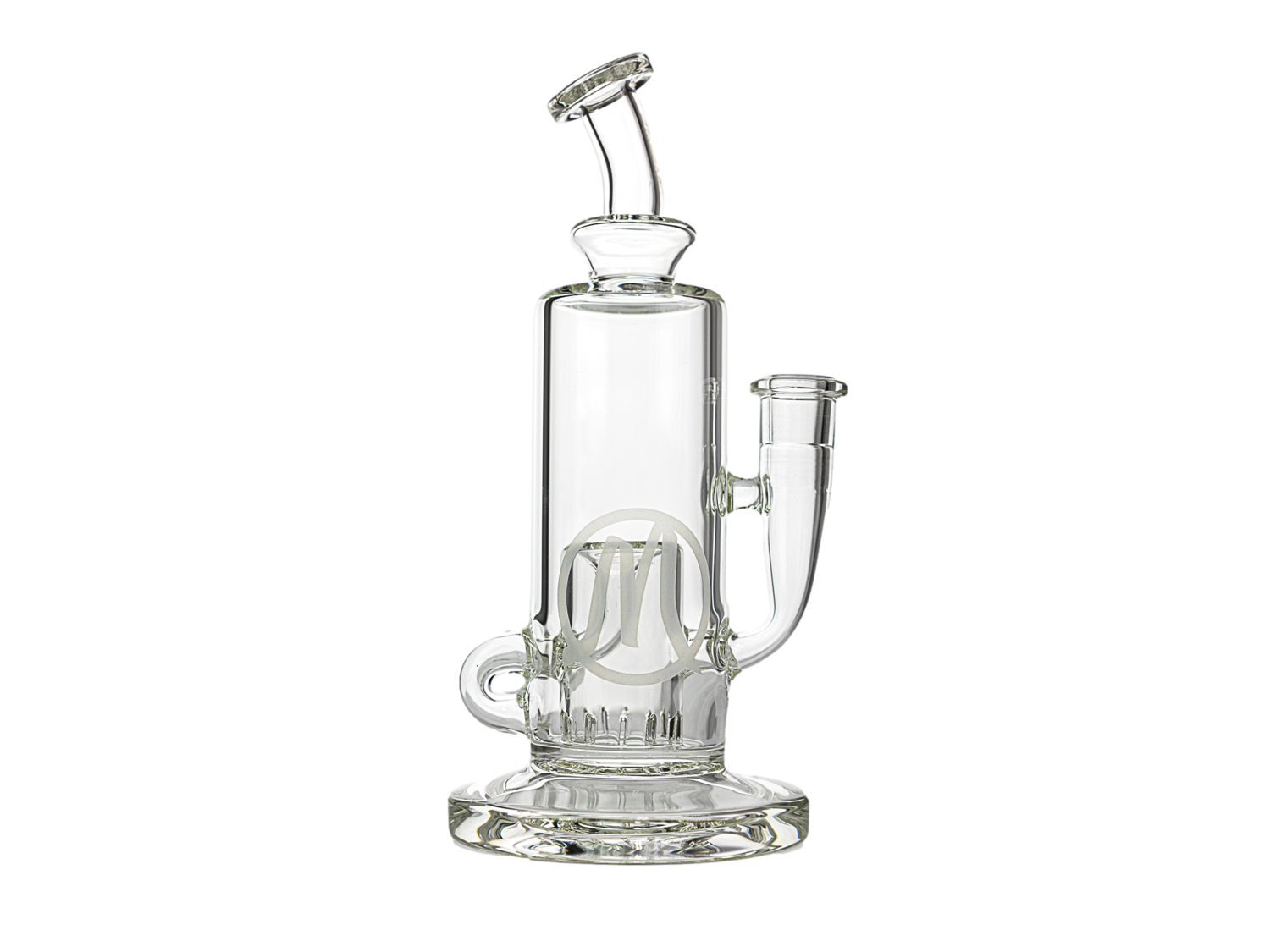 Monark Thick Bottom Recycler Clear 8