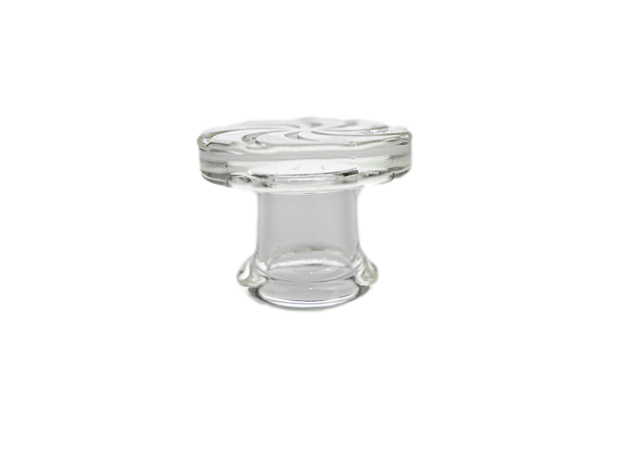 Thick Flat Top Clear Cap A75264