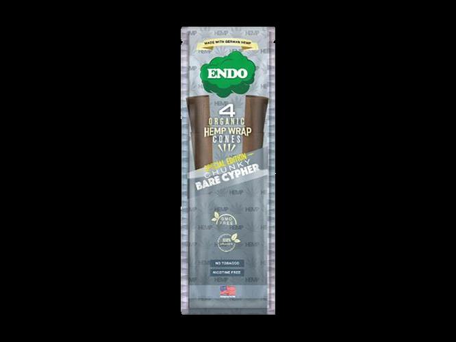 Endo 4 Organic Hemp Wrap Cones