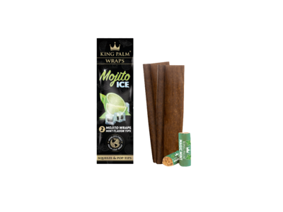 King Palm Flavor Wraps Mojito Ice