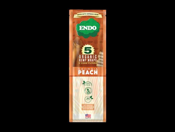 Endo Organic Wraps & Corn Filters - 5 Wraps Per Pack