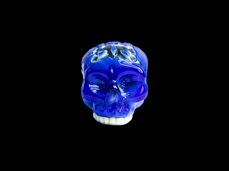 Hoobs Skull Pendy Blue