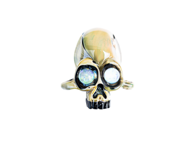 AKM NS-81 Caramel Skull Pendant