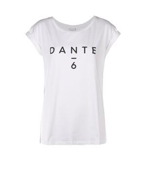 Dante 6 Logo Tee Wit