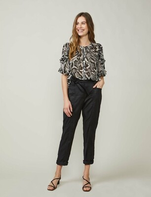 Summum Blouse met Slangenprint