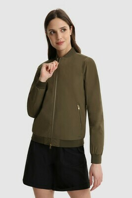 Woolrich Bomber Charlotte Army Green