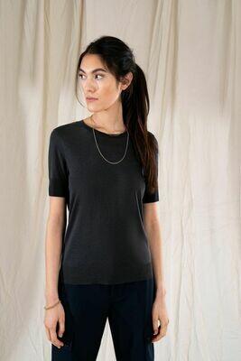 Drykorn T-Shirt Fammy Zwart