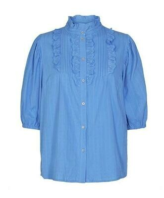 Co'Couture Blouse Blauw