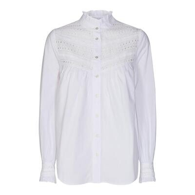 Co'Couture Arly Lace Blouse Wit