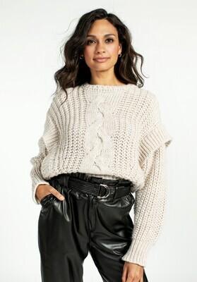 Aaiko Beige Sweater
