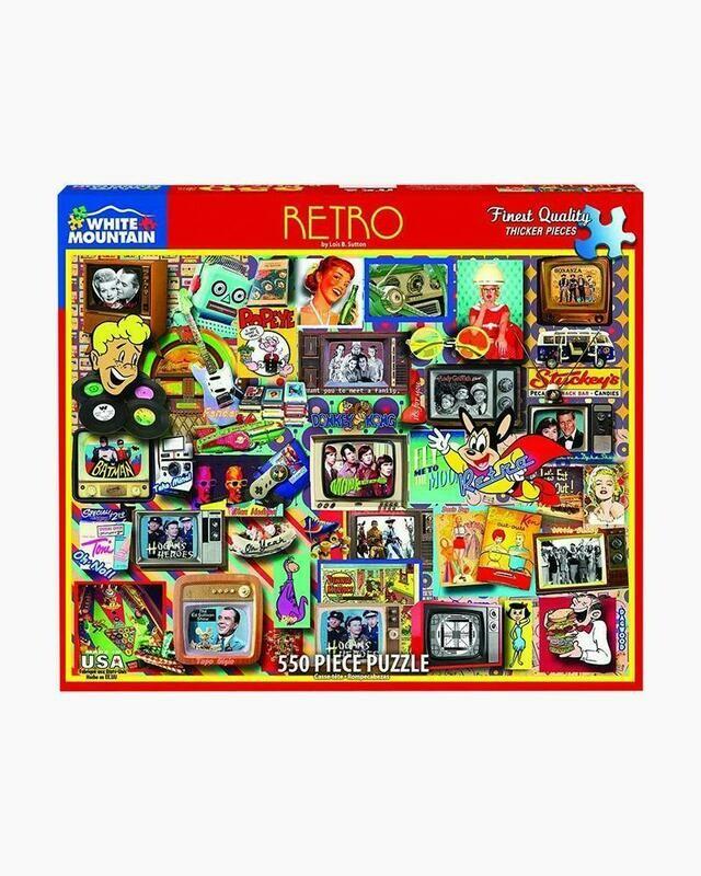Retro - 550 Piece Jigsaw Puzzle