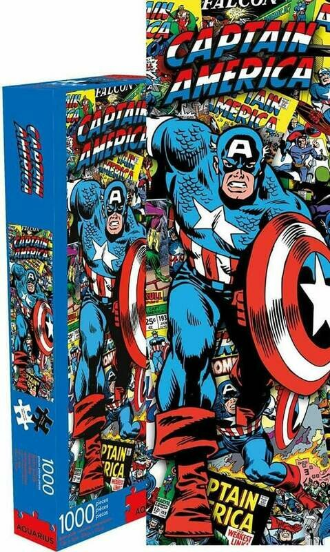 Marvel Captain America 1000 Piece Slim Jigsaw Puzzle