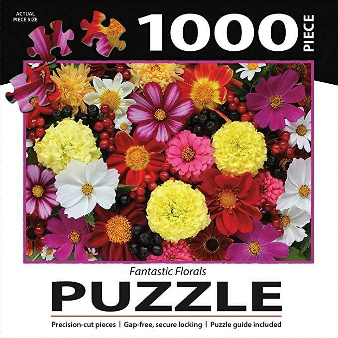 TURNER Photographic Fantastic Florals Puzzle - 1000 PC