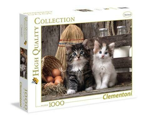 Lovely kittens - 1000 pcs - High Quality Collection
