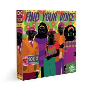 Find Your Voice 1000 Piece Puzzle