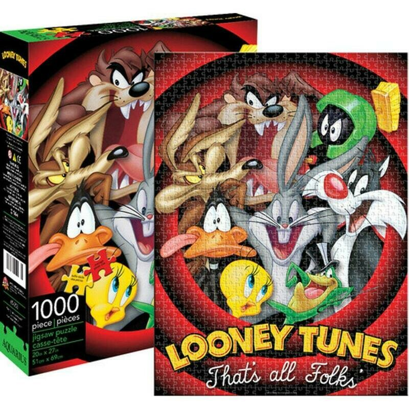 Aquarius - Looney Tunes - 1000 Piece Jigsaw Puzzle